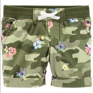 Carters little girls shorts